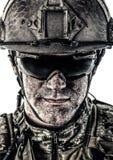 Operador de las fuerzas especiales foto de archivo libre de regalías