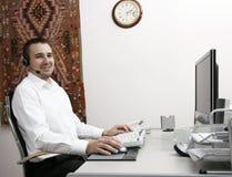 Operador de telefone Fotos de Stock Royalty Free