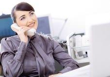 Operador do serviço de atenção a o cliente Imagem de Stock