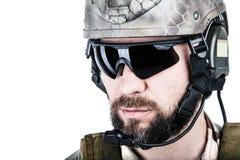 Operador especial da guerra Imagem de Stock Royalty Free
