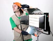 Operador ligero Imagenes de archivo