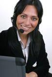Operador no trabalho Imagem de Stock Royalty Free
