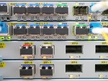 Operador técnico do equipamento de comunicação Fotografia de Stock Royalty Free