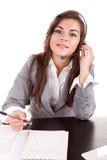 Operador van de telefoon Stock Foto