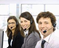 Operadores do serviço de atenção a o cliente Fotos de Stock Royalty Free