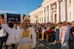 Operafest-Tulchyn 2018, Tulchin, Ukraina Zdjęcia Stock