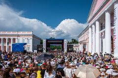 Operafest-Tulchyn 2018, Tulchin, Ukraina Zdjęcia Royalty Free