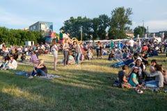 Operafest-Tulchyn 2018, Tulchin, Ukraine Stockfotografie