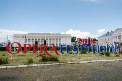 Operafest-Tulchyn 2018, Tulchin, Ukraine Lizenzfreies Stockfoto