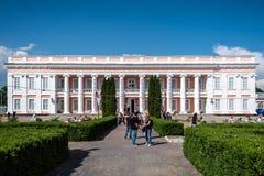 Operafest-Tulchyn 2018, Tulchin, Ukraine. Tulchin, Ukraine. 9 June, 2018. Palace of Count Potocki during the Operafest-Tulchyn 2018 Open Air Opera Festival stock photo