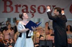 Operafestival Brasov - Roemenië Royalty-vrije Stock Foto's