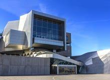 Operahouse ориентир ориентира Дании Ольборга дома музыки Стоковые Изображения