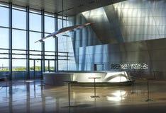 Operahouse ориентир ориентира Дании Ольборга дома музыки Стоковое Изображение RF