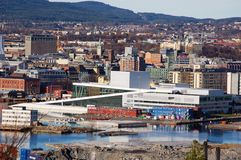 operahouse Осло Стоковое Изображение