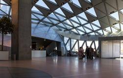 Operahouse de la señal de Dinamarca Aalborg de la casa de la música Imagen de archivo libre de regalías