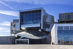 Operahouse do marco de Dinamarca Alborgue da casa da música Fotos de Stock