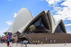 Operahuis in Sydney Stock Afbeelding