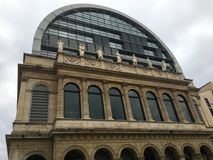 Operahus av Lyon Frankrike royaltyfri foto