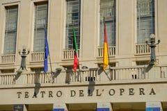 Operahus för Rome ` s Royaltyfria Bilder