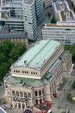 Operahus i Frankfurt Royaltyfria Bilder
