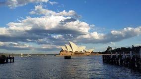 Operahus i Sydney royaltyfri fotografi