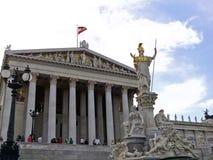 Operahus i Wien Arkivbilder