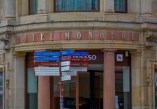 Operahus i Wroclaw Polen royaltyfri foto