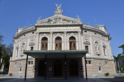 Operahus Ljubljana Arkivfoto