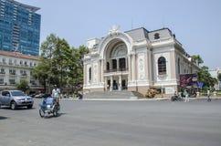 Operahus Vietnam Fotografering för Bildbyråer