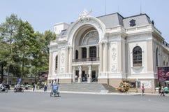 Operahus Vietnam Royaltyfri Foto