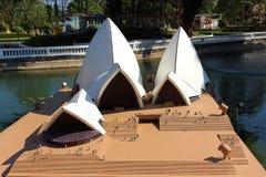 Operahuset i Mini Siam parkerar i den Pattaya staden Royaltyfria Bilder