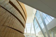 Operahuset - Opernhaus in Oslo innen norwegen Lizenzfreie Stockfotografie