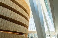 Operahuset - Opernhaus in Oslo innen norwegen Lizenzfreie Stockfotos