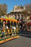 Operahuset på den huvudsakliga gatan på Disneyland, Kalifornien Royaltyfri Fotografi