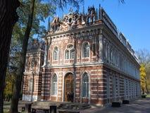 Operahuset parkerar in Tsaritsyno Arkivbild