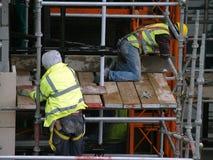 Operai di costruzione Immagine Stock Libera da Diritti