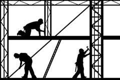 Operai di costruzione illustrazione vettoriale