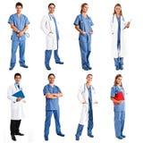 Operai medici Immagine Stock