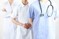 Operai medici Fotografie Stock