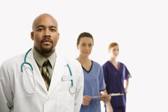 Operai medici di sanità Fotografie Stock Libere da Diritti