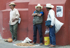 Operai messicani Fotografie Stock