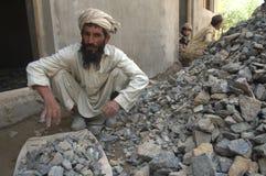 Operaio afgano Fotografie Stock Libere da Diritti