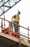 Operaio di costruzione Fotografie Stock Libere da Diritti