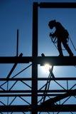 Operaio di costruzione. Fotografia Stock