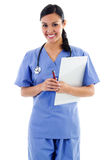 Operaio femminile di sanità Immagine Stock