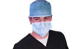 Operaio medico Fotografia Stock