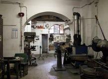 Operaio siderurgico italiano fotografie stock libere da diritti