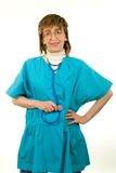 Operaio sorridente di sanità Fotografie Stock