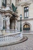 Operamedborgare de Paris Storslagen opera (operan Garnier), Paris, Fra Arkivfoto