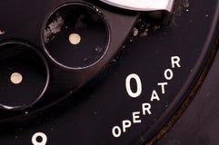 operatör arkivbild